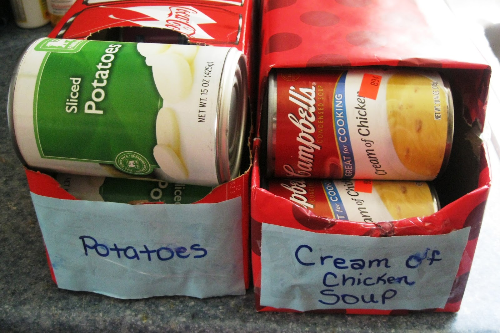the frugal pantry diy can organizer
