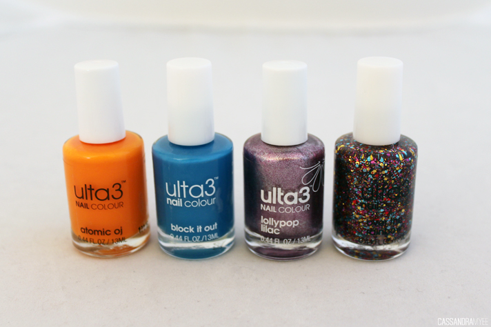 ULTA3 // Nail Colours | Review + Swatches - CassandraMyee