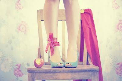 pastel,maçã,sapato,azul,cadeira,fotografia