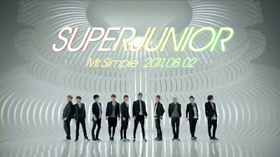Lirik Lagu Super Junior MR Simple