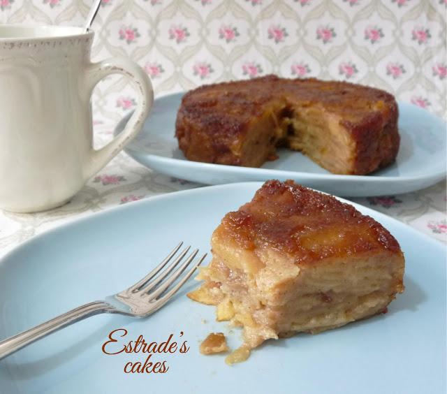 receta de pastel sorpresa de manzana 5