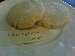 plate of sugar cookies