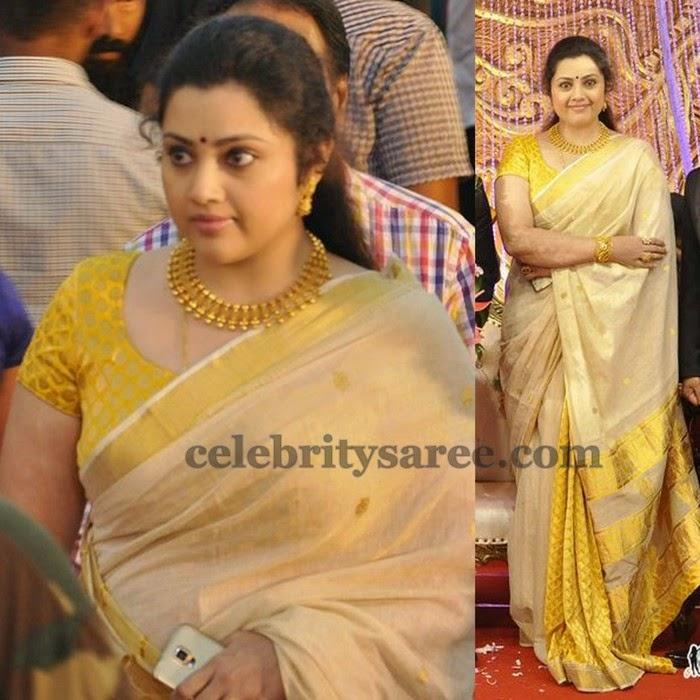 Meena Light Weight Silk Saree