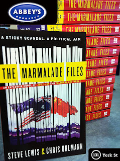Signed copies of The Marmalade Files while stocks last