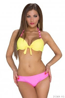 Costum de baie DeliciousAqua Yellow