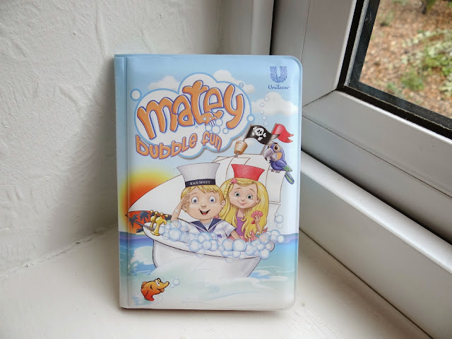 Matey Bubble Bath, Matey Bubble Bath Limited Edition Bath book, Limited edition toys