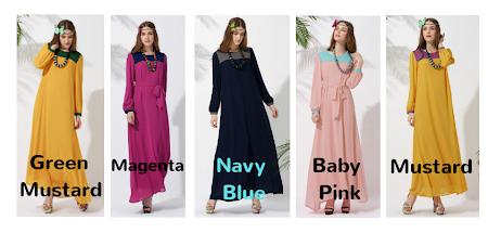 Dress Menawan Chiffon Full Lining Yang Paling Menawan. Sesuai Untuk Yang Bertubuh Kecil & Besar