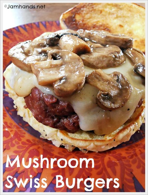 Jam Hands: Mushroom Swiss Burgers