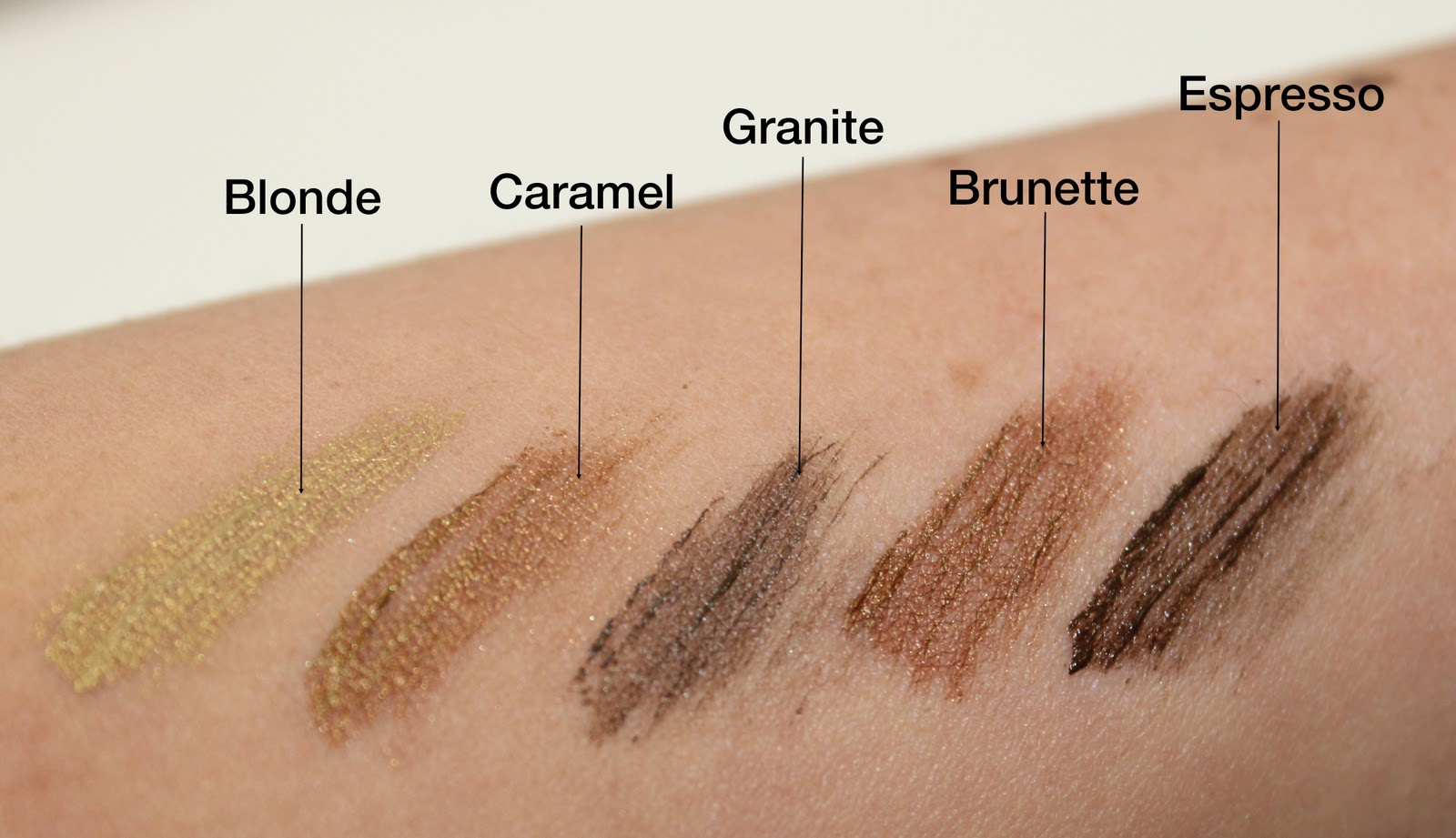 Anastasia Beverly Hills Brow Pencil Colors