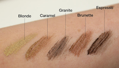 Anastasia tinted brow gel granite review