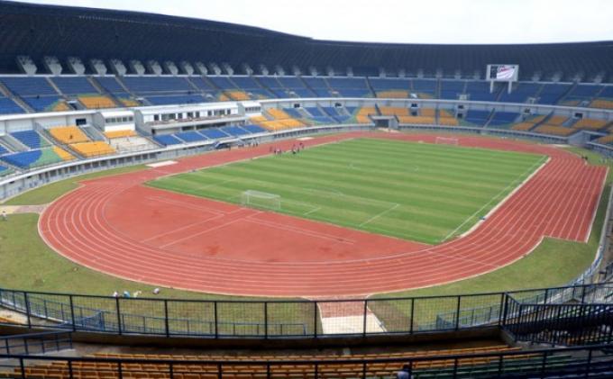 Persib vs Malaysia Selection di Stadion GBLA