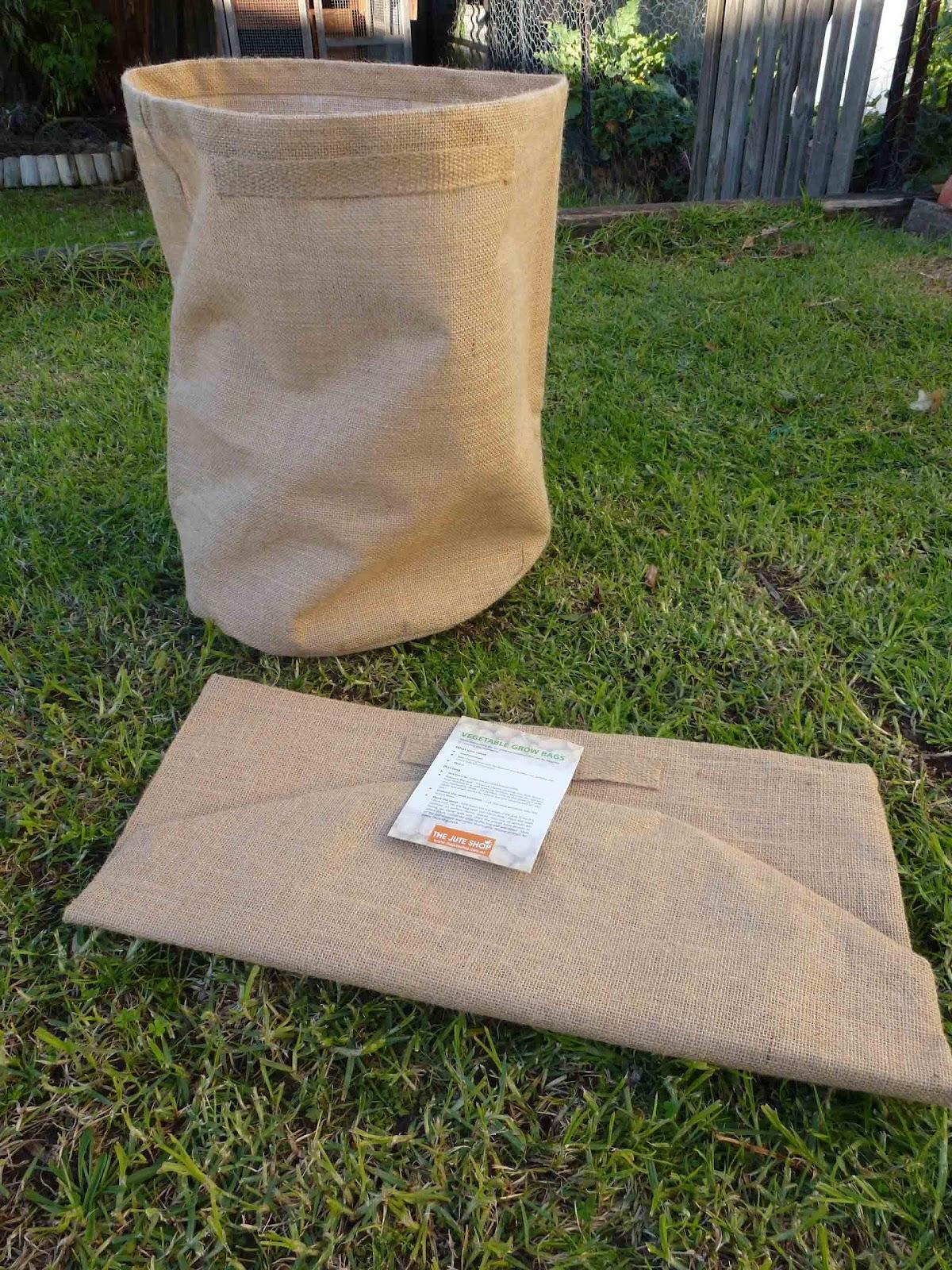 Jute Potato Planter Bags