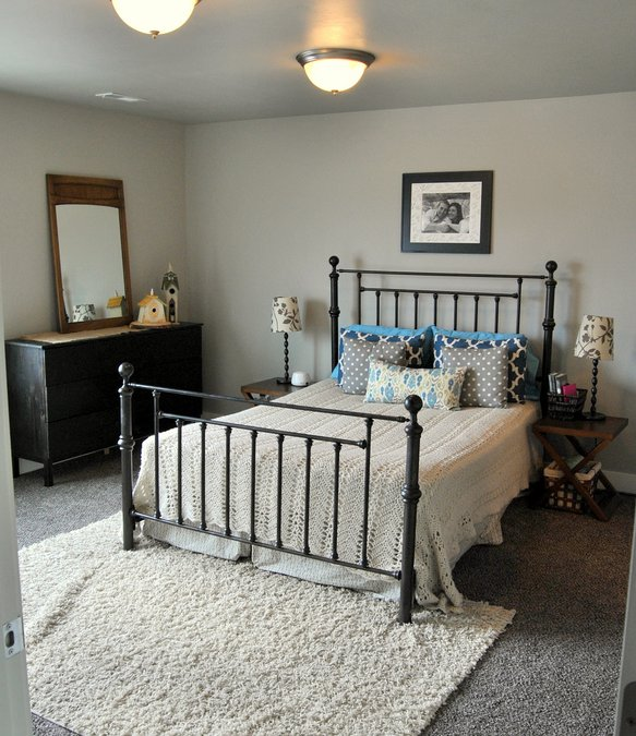 cottage style master bedroom tour