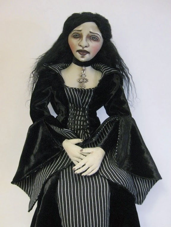 Medival Art Doll