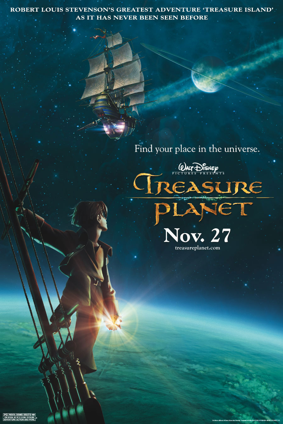 Planeta Pokladu Treasure Planet 2002 Knizni Filmovy Zurnal