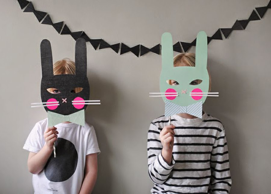 simple bunny mask diy