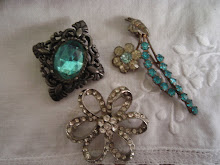 and vintage brooches
