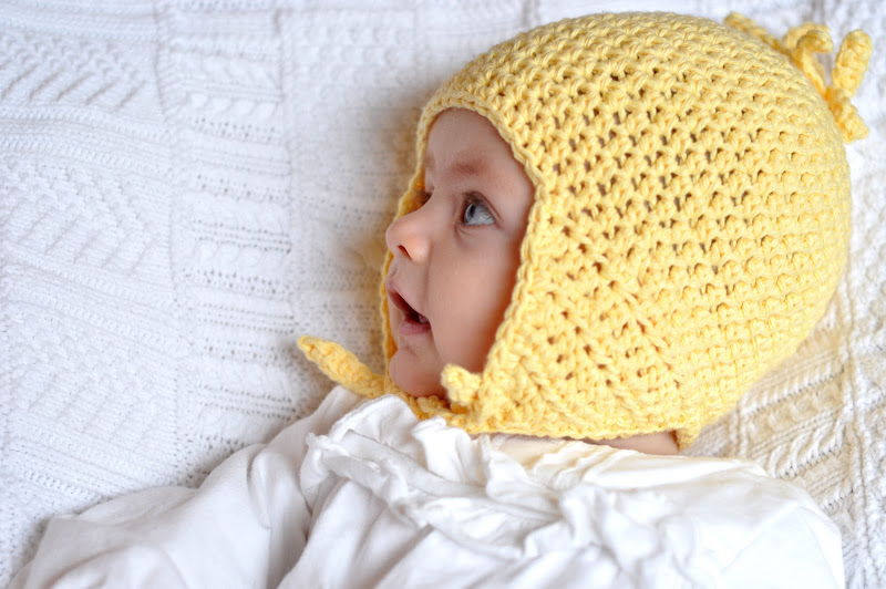 Aesthetic Nest: Crochet: Flippy Floppy Earflap Hat for Baby (Pattern)