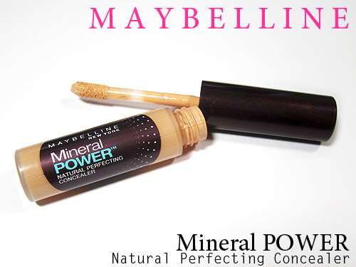 maybelline mineral power concealer review