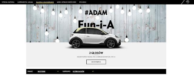 zagłosuj na opel adam Fun-i-A