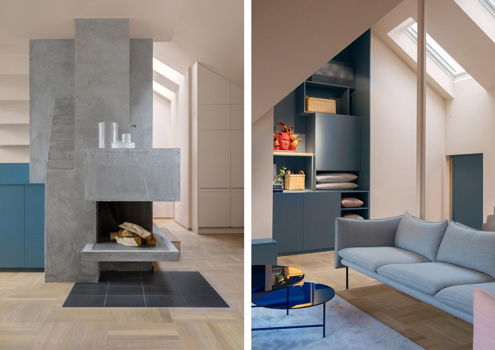 Awesome colori per pareti casa a stoccolma con tonalit for Grigio e beige arredamento