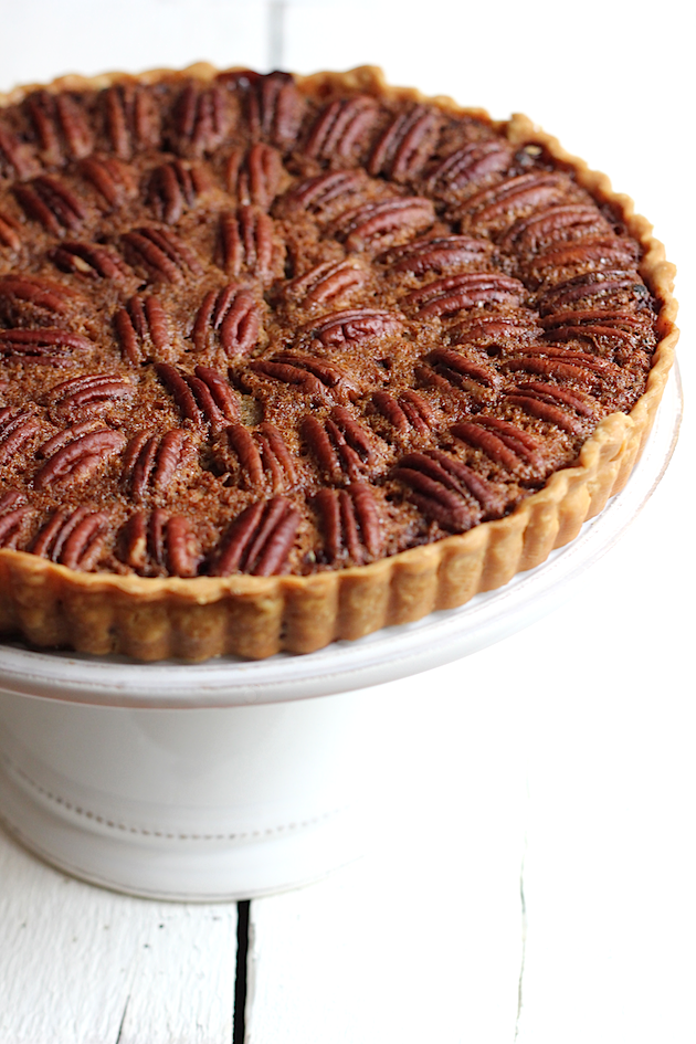 Savor Home: CHOCOLATE PECAN TART:: FOR BEGINNERS