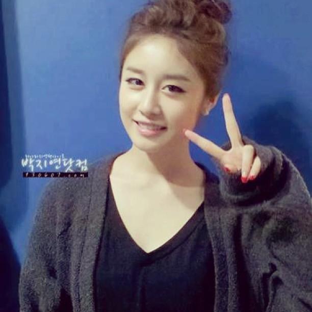 "Park Jiyeon New Selca ""Cheers!"""