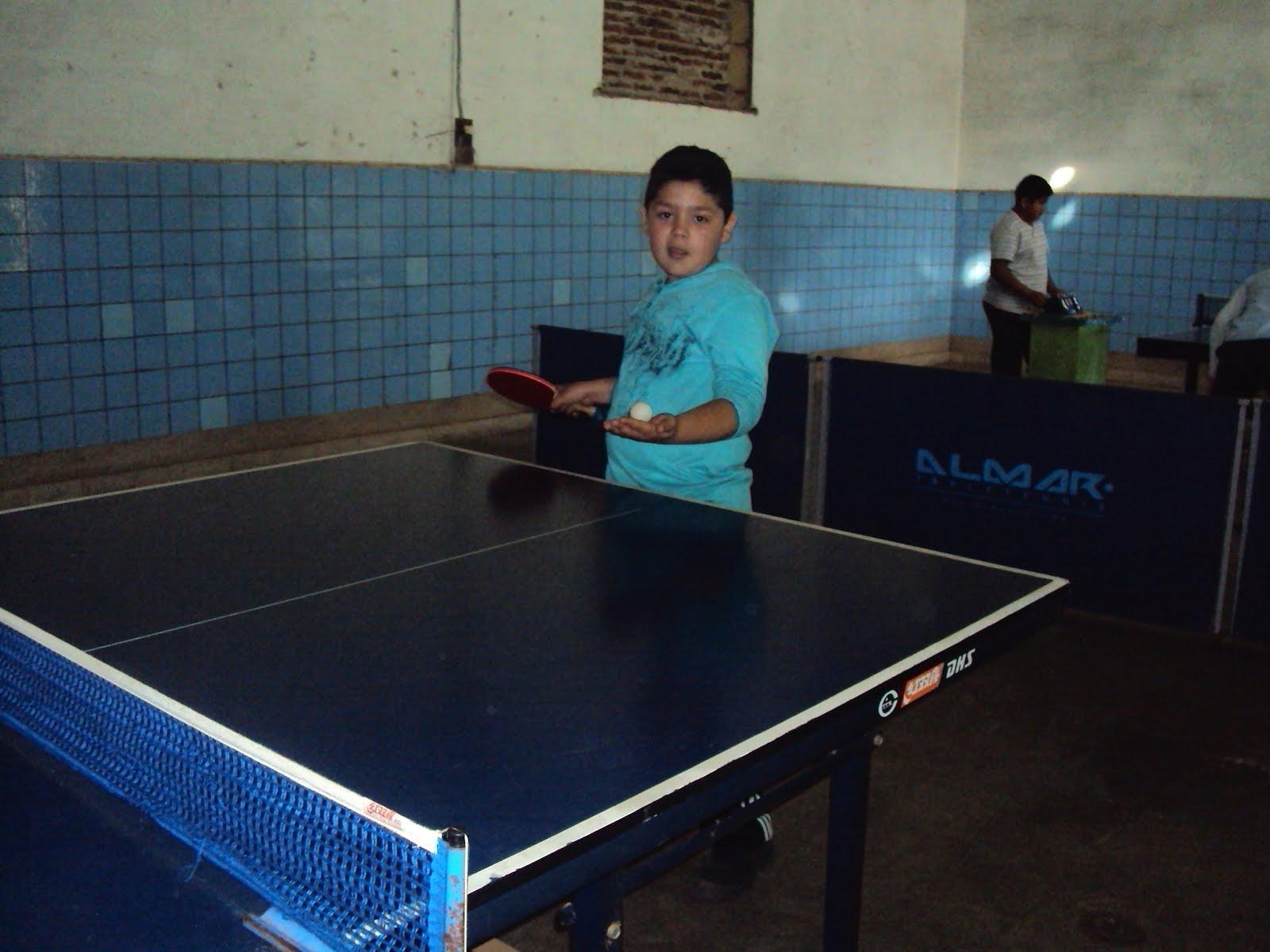 Deporte Social taller de Tenis de Mesa Paso de los libres 2015