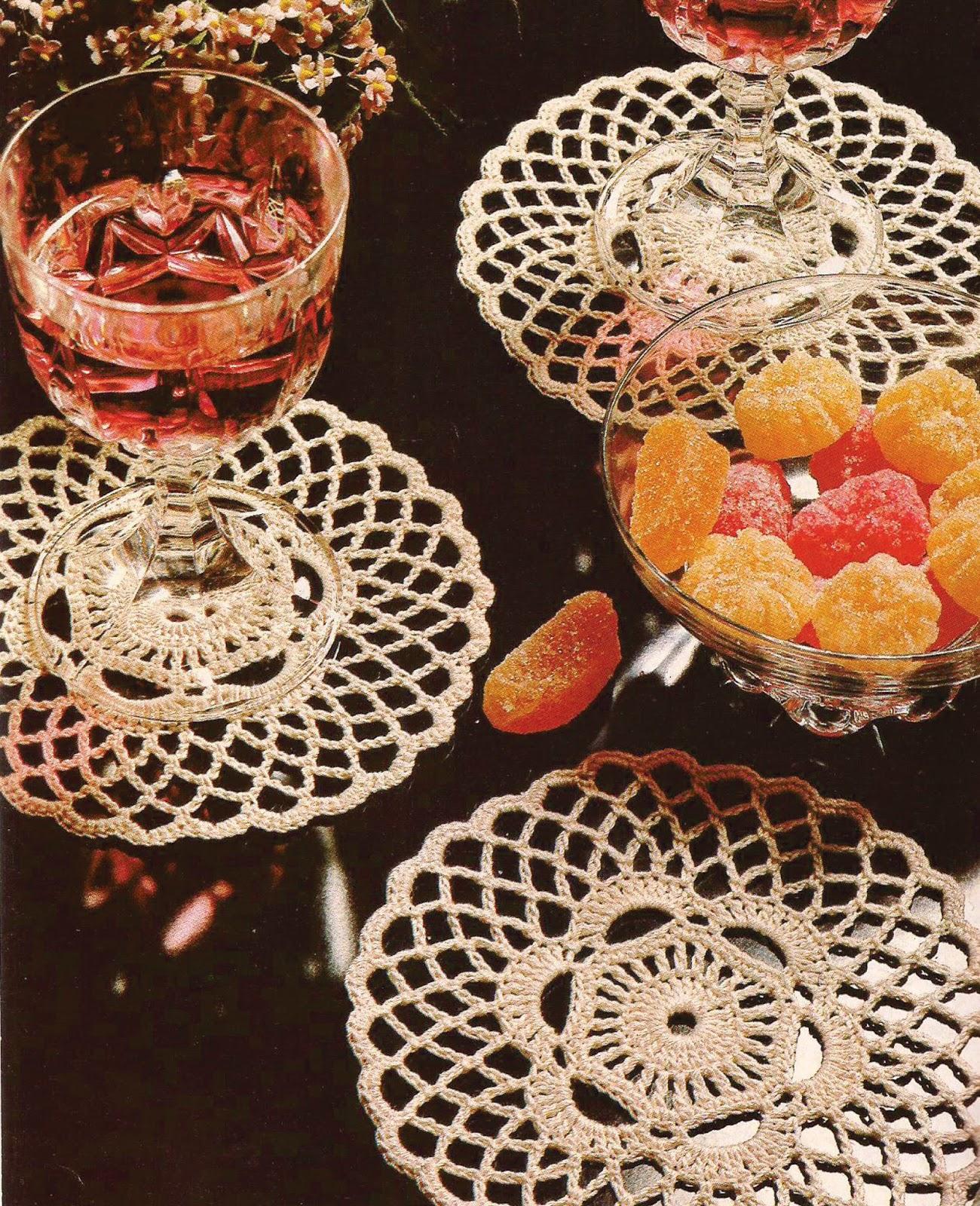 Porta vasos a Crochet