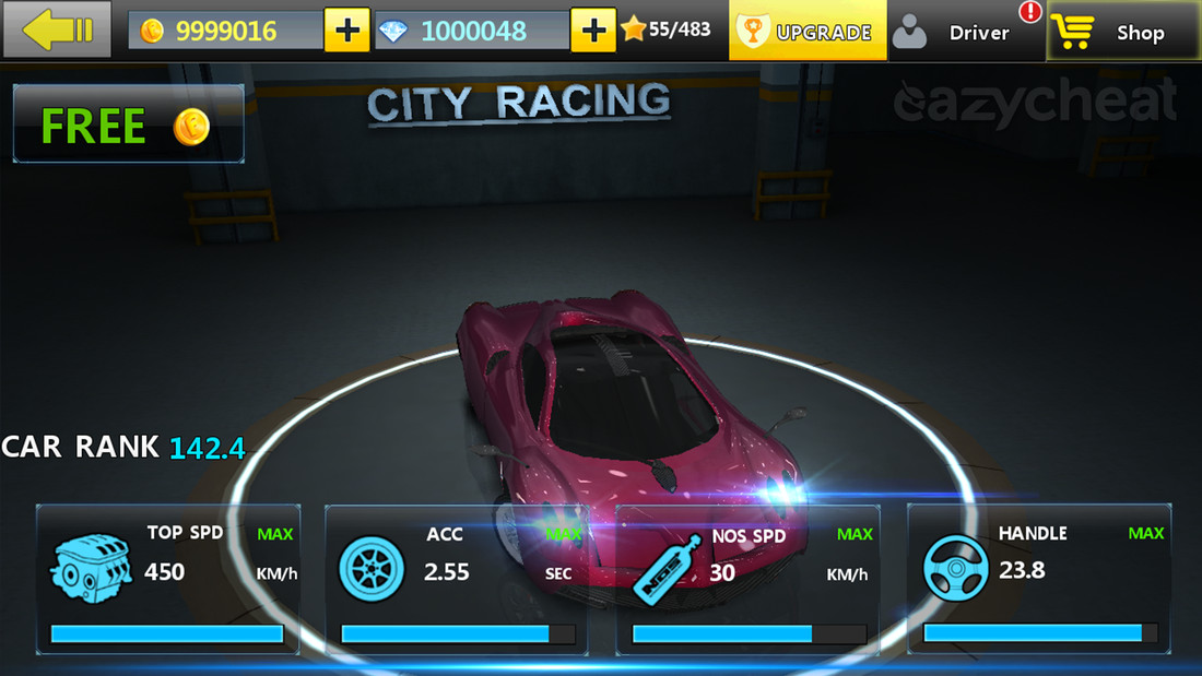 Game Cheat Codes City Racing 3d Cheats