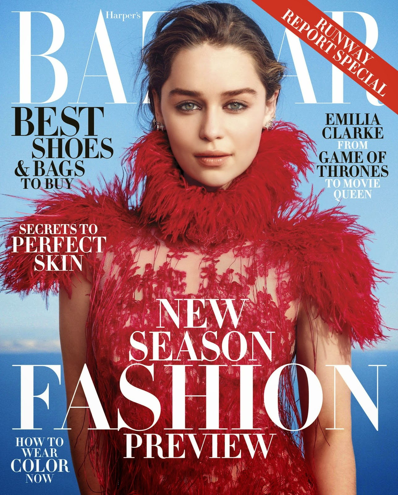 Actress @ Emilia Clarke - Harper's Bazaar, June 2015