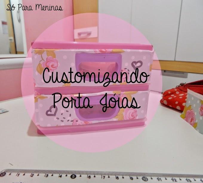 Customizando Porta Jóias