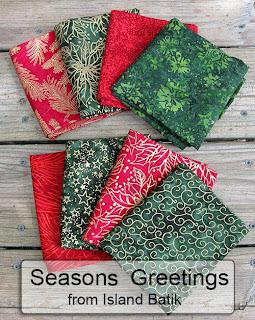 Seasons Greeting by Island Batik