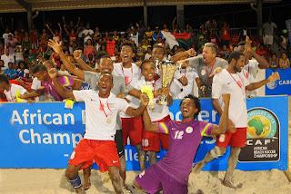 Madagascar football beach soccer champion