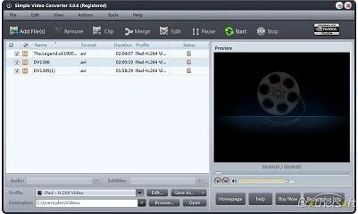 برنامج simple video converter لتحويل ملفات الفيديو اخر اصدار