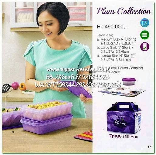 Tupperware Promo April 2015 Plum Collection