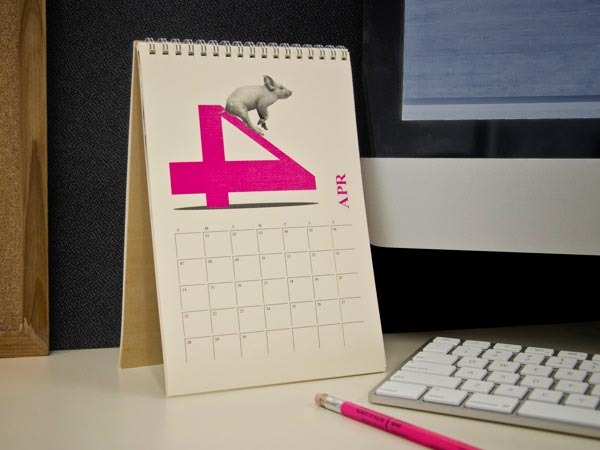 Handmade Table Calendar Designs : Awesome calendar designs jayce o yesta