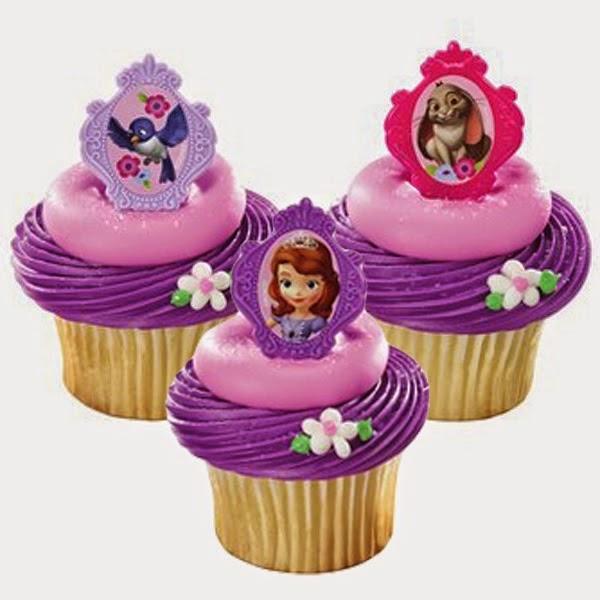 MuyAmeno.com: Cupcakes Princesa Sofia, parte 1