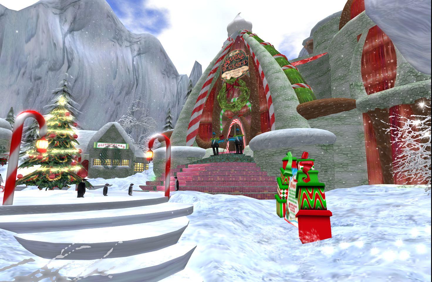 LDS and Perfect LIberty: North Pole Village & Santa\'s Village