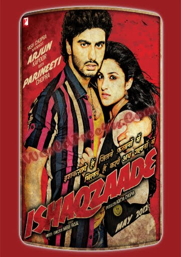 Poster Of Hindi Movie Ishaqzaade (2012) Free Download Full New Hindi Movie Watch Online At worldfree4u.com
