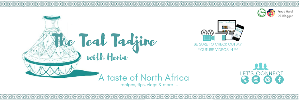 The Teal Tadjine  |  North African-Inspired Family Traditions + Halal Recipes
