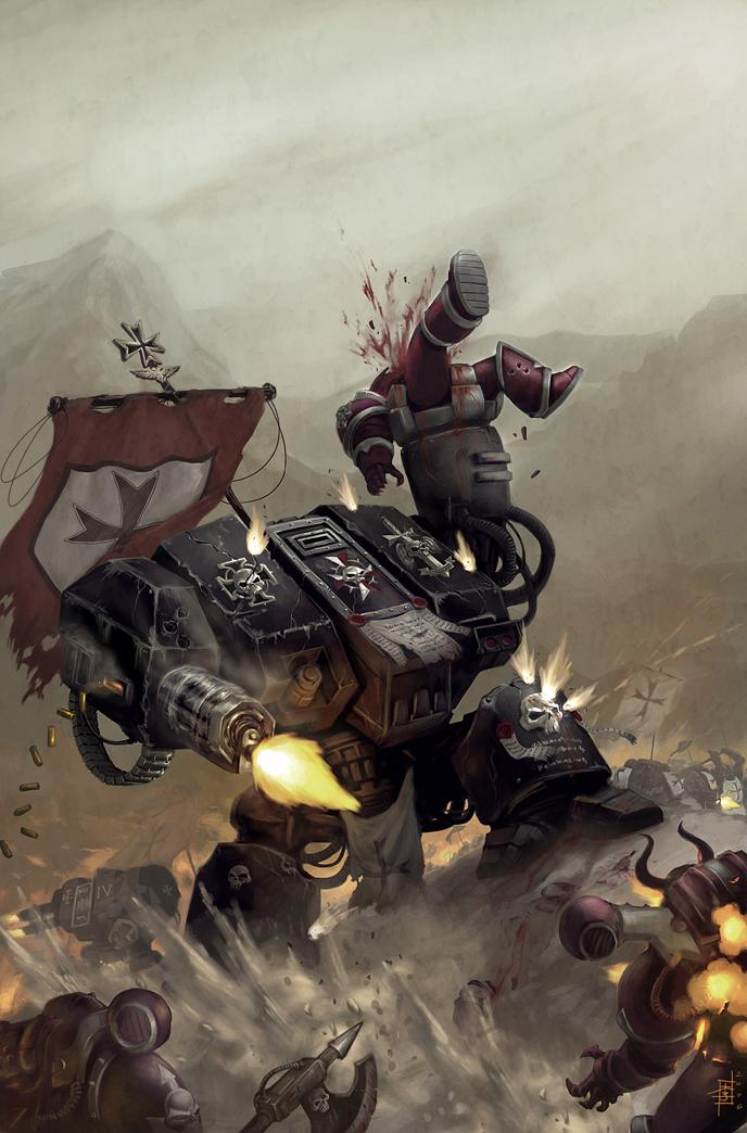 Warhammer 40k Art + More