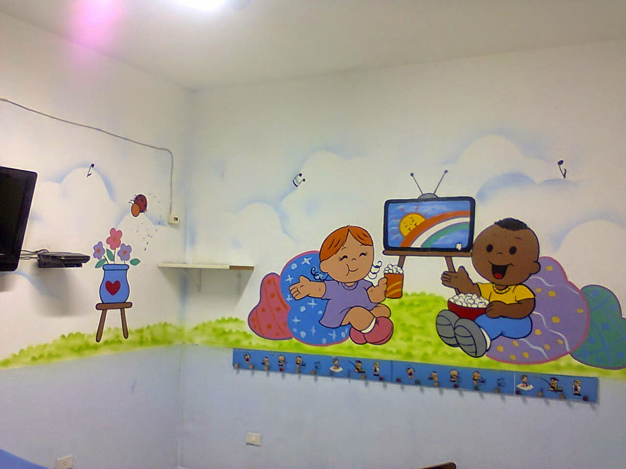 Decorao Sala De Aula Educao Infantil Placa De Identificao Para A  -> Decoracao Sala De Artes