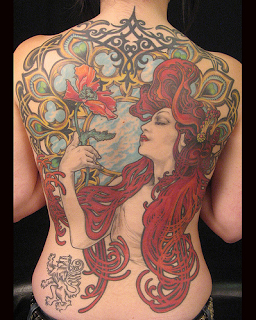 Art Nouveau Tattoos For Women