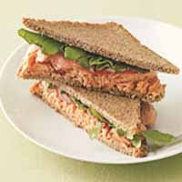 Weight loss recipes : Wasabi Salmon Sandwiches
