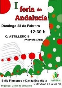 I Feria de Andalucia en Villaverde