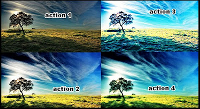 Kumpulan Action Photoshop (60 Action keren)