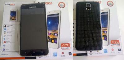 Harga dan Spesifikasi Smartphone Evercoss A7L, Ponsel Android Rp 800 Ribuan
