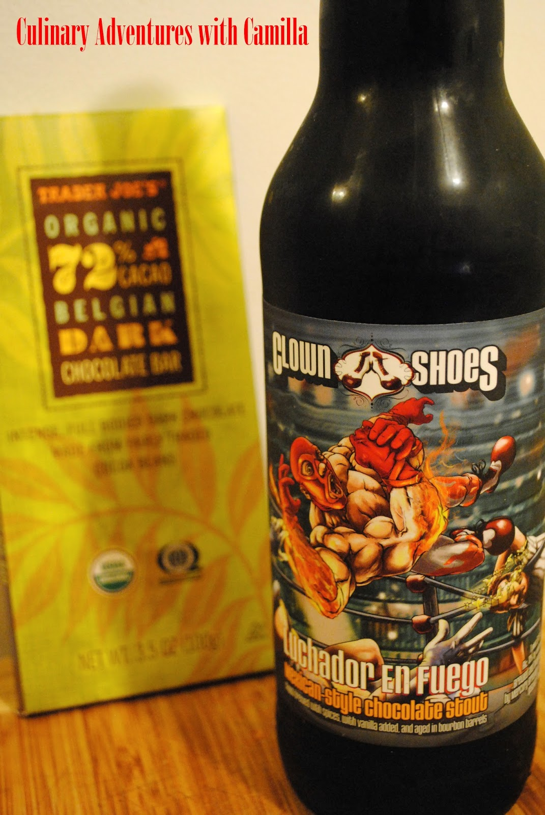 american craft beer week: clown shoes' luchador en fuego
