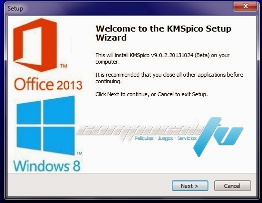 KMSpico Activador Windows 8.1 Office